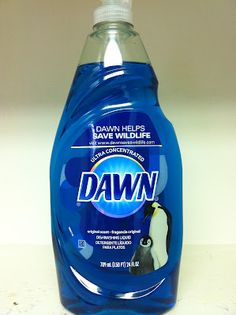 20 USES FOR ORIGINAL BLUE DAWN LIQUID!!! - Also use it to refill foam hand soap dispensers by filling empty container 1/4-1/3 full with Dawn and slowly adding water up to the bottom of the pump.