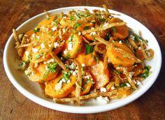 Superfood Stunner: Sweet Potato Salad (http://blog.hgtv.com/design/2014/08/21/sweet-potato-salad-recipe/?soc=pinterest)