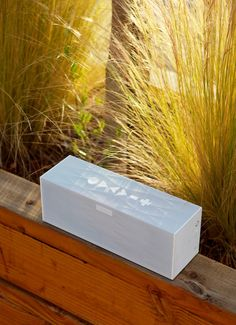 Garden party. Big Jambox by Jawbone.