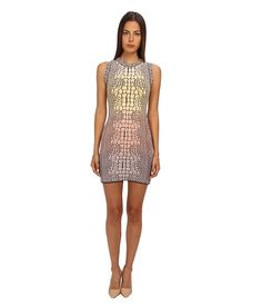 M Missoni Crocodile Jacquard Dress