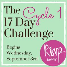 Join the C1 17 Day Challenge starting September 3rd! You'll receive a smoothie kit, meal plans and daily motivating emails to keep you going! It's free!