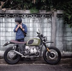 BMW caferacer by @no way Pix Pixtograph