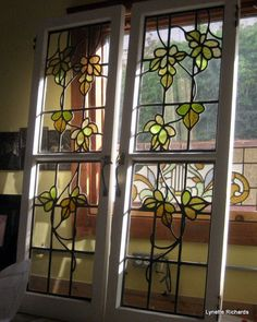 Lynette Richards'Rose Window Stained Glass ~ restore our heritage glass!!!!