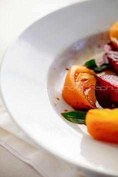 Heirloom Tomato Salad via @Sylvie | Gourmande in the Kitchen