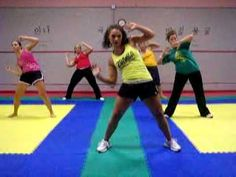 Zumba with Amber--probably the best Zumba youtube video workouts ever  (song: Carry-out)