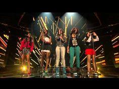 "Fifth Harmony ""Skyscraper"" - for Survival - The X Factor USA 2012"