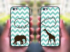 iPhone 5S case,Best Friends,iphone 5C case,iphone 5 case,iphone 4 case,iphone 4s,ipod case,Samsung and Blackberry Series,Elephant ,Giraffe @Kendall Finlayson Glavan