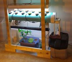 6 Basic Systems of Hydroponic Gardening | hydroponic gardening... I really like this setup.