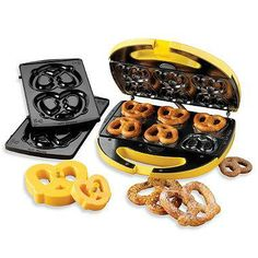 Your very own Soft Pretzel Factory that makes great snacks for while you watch the game.