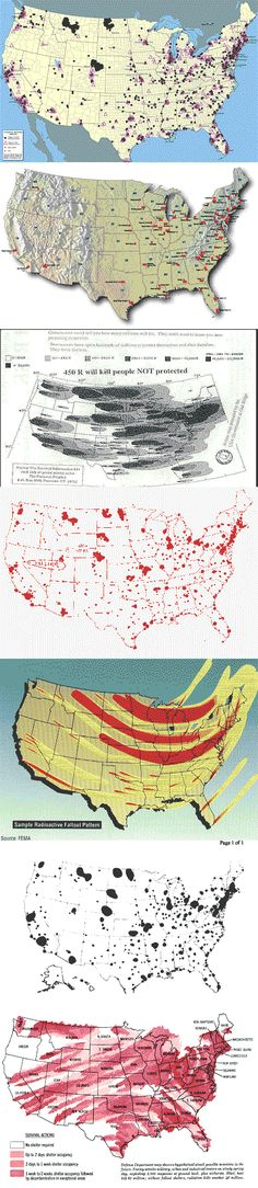 US Nuclear Target Map