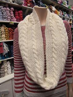 libraries, knit scarv, nifti knit, patterns, free pattern, yllotyl garnbuti, pattern cowl, knit dream
