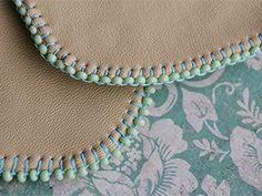 Вышивка бисером. Урок №3. Край изделия. | Ярмарка Мастеров - ручная работа, handmade
