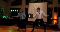 The Most Epic Mother-Son Wedding Dance Ever | via @SparkPeople #funny #positive #SmileStarters