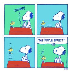 The ripple effect.