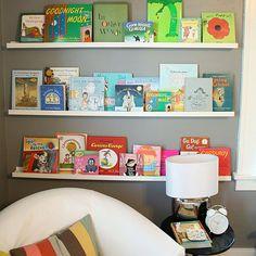 Cool Ways to Display Kid's Books | SocialCafe Magazine