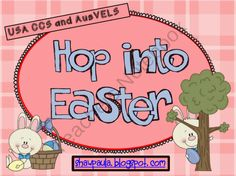 Hop into Easter product from Paulas Place on TeachersNotebook.com