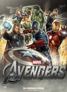 New poster for the Avengers movie