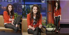 """Kristen Stewart at """"The Tonight Show"""""""