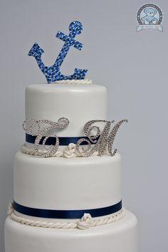 Anchor Wedding Cake