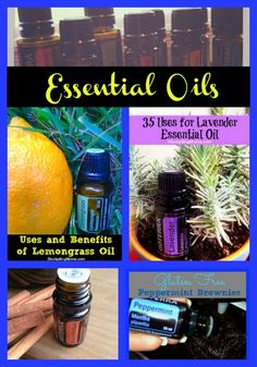 Over 30 Essential Oils articles!  Uses and benefits of using essential oils and DIY!