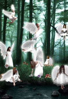 Angels have no limitations when it comes to time and space!