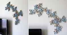 wall decor, craft, toilet paper rolls, paper towel rolls, toilet paper tubes, toilet paper art, paper flowers, diy wall art, paper roll art