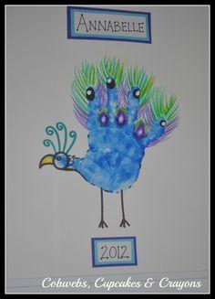 Peacock Handimal