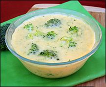 Hungry Girl: Cheesy Broc Soup