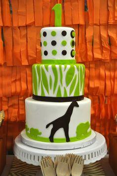 Safari themed 1st Birthday