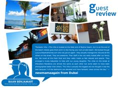 What do the guests say about Baan Benjamart (Koh Samui) ?