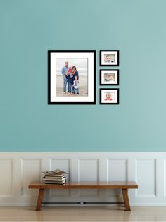 Eternity framed grouping on the stairs template. Photography by Kristin Rachelle.