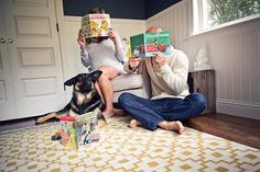 Couple's Maternity Photos maternity photos, maternity pictures, coupl matern, baby books, dog, project ideas, photo idea, matern photo, photographi