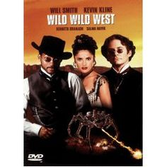 Wild Wild West - One of the box-office smashes of the summer of 1999, this film by director Barry Sonnenfeld (Men in Black, Get Shorty) was raked by critics but embraced by audiences. Based on the 1960s TV adventure show that starred Robert Conrad, this film reimagined Secret Service agent James West as Will Smith, adding Oscar-winner Kevin Kline as his sidekick, agent-inventor Artemus Gordon. http://www.amazon.com/gp/product/B00001ZWTT/ref=as_li_ss_tl?ie=UTF8=zippycarpetcl-20=as2