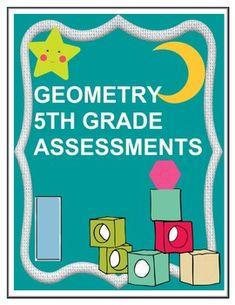 Geometry 5th Grade Assessment - CCSS