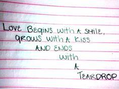 Aww sayings, a kiss, bobs, quotes, sad, true, memories, feelings, kisses