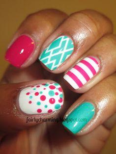 Jamberry nail shields, Zoya Morgan, China Glaze Turned up Turquoise