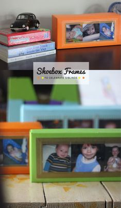 These are brilliant! --> Shoebox frames