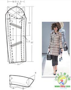 coat #sewing #dressmaking #patternmaking