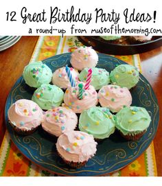 12 awesome and amazing birthday party theme ideas - a round up from Muse of the Morning