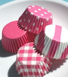 cupcake wrappers.