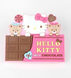 Attention #HelloKitty fans who love Chocolate: get a grip with this super sweet magnet clip