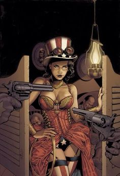 Steampunk Wonderwoman!