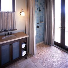 Indoor Outdoor Shower Design
