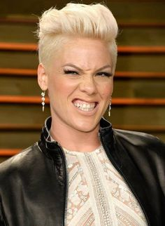 p!nk 2014 hair  nk at the Oscars