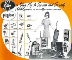 An Kirby vacuum ad for the Dual Sanitronic in 1967