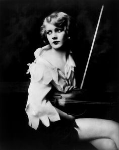 ***** #Antique #Photo #Vintage #Woman #Violin