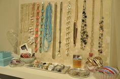 DIY Jewelry Storage