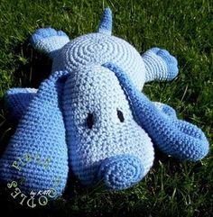 Crochet Pillow Puppy