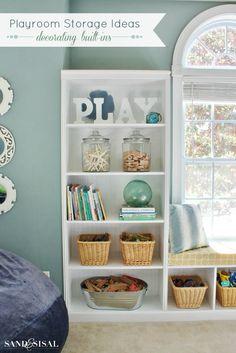 Playroom Storage Ide