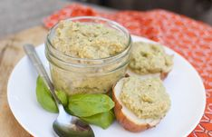 Artichoke Basil Hummus (Oil and Tahini Free)